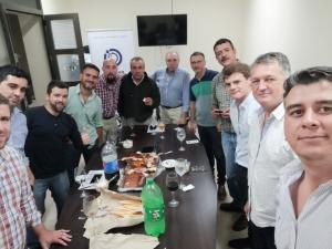 Reunión de Comisión Directiva y Brindis para celebrar el primer año de gestión